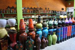 Free Lombok Clay Pottery From Banyumulek Stock Images - 121691504