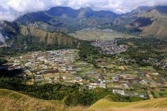 Lombok Indonesia della collina di Pergasingan Immagini Stock
