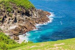 Lombok. Indonesia Lombok Island  beach sea ocean rock Royalty Free Stock Images
