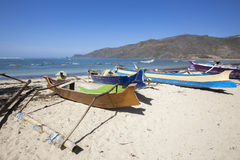 Lombok około Wrzesień 2015: Gil Trawangan, Lombok jest głównym atrakcją turystyczną Zdjęcie Stock