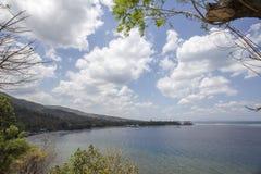 Lombok około Wrzesień 2015: Gil Trawangan, Lombok jest głównym atrakcją turystyczną Fotografia Stock