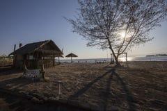 Lombok około Wrzesień 2015: Gil Trawangan, Lombok jest głównym atrakcją turystyczną Zdjęcia Stock