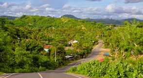 Lombok road Royalty Free Stock Photography