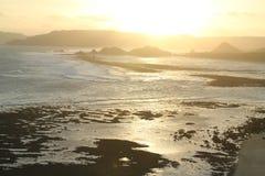 Lombok Sonnenuntergang Stockbilder