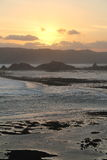 Lombok Sonnenuntergang Lizenzfreies Stockfoto