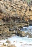 Lombok stensikt Arkivfoton