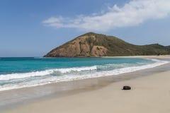 Lombok strand Arkivbild