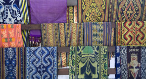 Lombok textile Royalty Free Stock Photos