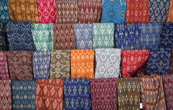 Lombok textile. Traditional textile of Lombok, Indonesia Royalty Free Stock Image