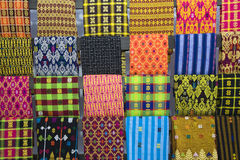 Lombok textile. Traditional textile of Lombok, Indonesia Royalty Free Stock Photos