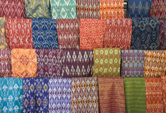 Lombok textile. Traditional textile of Lombok, Indonesia Stock Photo