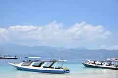 lombok trawangan di gili fotografia stock libera da diritti