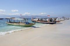 Lombok vers en septembre 2015 : Gili Trawangan, Lombok est attraction touristique principale Photographie stock