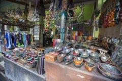 Lombok vers en septembre 2015 : Gili Trawangan, Lombok est attraction touristique principale Images stock