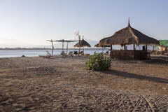Lombok vers en septembre 2015 : Gili Trawangan, Lombok est attraction touristique principale Photos libres de droits