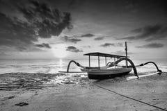 Lombokcirca September 2015: Gili Trawangan, Lombok is hoofdtoeristische attractie Royalty-vrije Stock Foto's