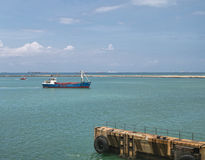Lome' harbour Royalty Free Stock Image