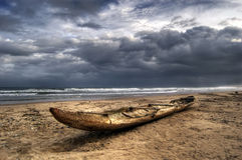 Lome strand Royaltyfria Bilder
