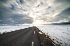 Lomg gatalopp Island Fotografering för Bildbyråer