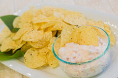Lomi Salmon Dip Royalty Free Stock Photos