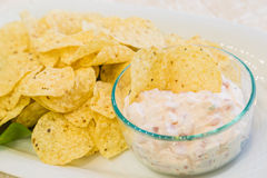 Lomi Salmon Dip Royalty Free Stock Photography