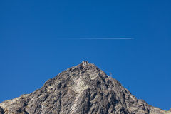 Lomnica - βουνό στο Tatras, Carpathians Στοκ φωτογραφία με δικαίωμα ελεύθερης χρήσης