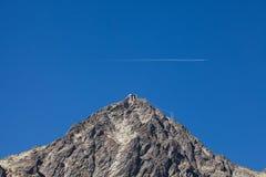 Lomnica - montanha no Tatras, Carpathians Foto de Stock Royalty Free