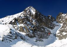 The Lomnicky Peak Royalty Free Stock Images