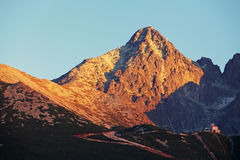 Lomnicky peak - detail Royalty Free Stock Photography