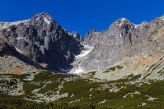 Lomnicky Peak, High Tatras, Slovakia Stock Photos