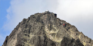 Lomnicky Peak, High Tatras, Slovakia, Europe Stock Photo