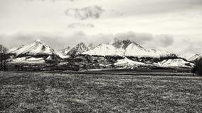 Lomnicky peak, High Tatras, Slovakia, seasonal natural scene, co Stock Image
