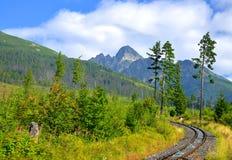 Lomnicky Peak in High Tatras, Slovakia Royalty Free Stock Image