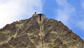 Lomnicky Peak Mountain High Tatras, Slovakia, Europe Stock Image