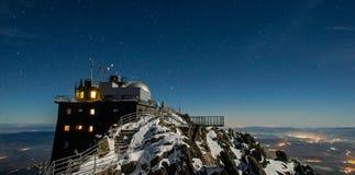 Lomnicky Peak at night Stock Photo