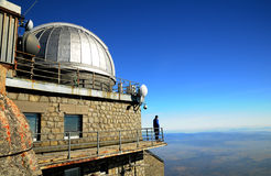 Lomnicky Peak Observatory - Slovakia Royalty Free Stock Photo