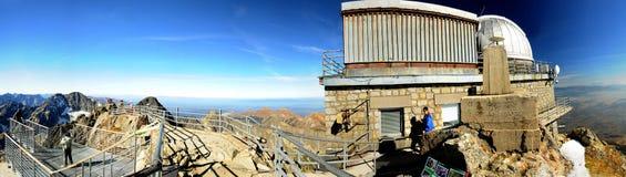 Lomnicky Peak Observatory - Slovakia Stock Photos