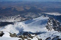 Lomnicky peak in Slovakia Royalty Free Stock Photo