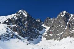 Lomnicky peak in Tatra Royalty Free Stock Image