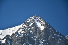 Lomnicky peak in Tatra Stock Photography