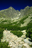 Lomnicky stit, High Tatras Stock Photo