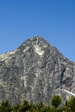 Lomnicky stit, High Tatras in Slovakia Royalty Free Stock Photography