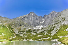 Lomnicky stit, High Tatras in Slovakia Stock Images