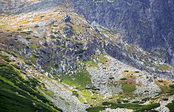 Lomnicky stit - peak in High Tatras mountains Stock Photos