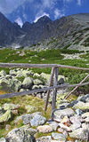 Lomnicky stit - peak in High Tatras mountains Stock Photography