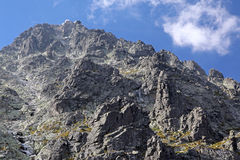Lomnicky stit - peak in High Tatras, Slovakia Royalty Free Stock Photos
