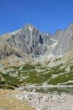 Lomnicky Tatras alto máximo Fotos de Stock Royalty Free