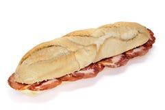 Lomo embuchado sandwich Stock Image