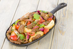 Lomo Saltado Royalty Free Stock Images