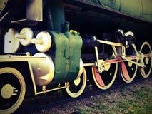 Lomo-style locomotive Stock Photo